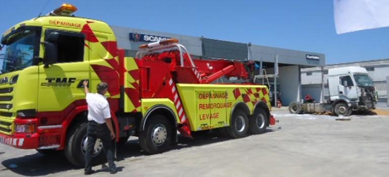 Le Rotateur 1060 importé par Scania pour compte de TMF Batouche