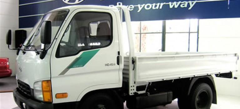 HD45, un camion pour la ville