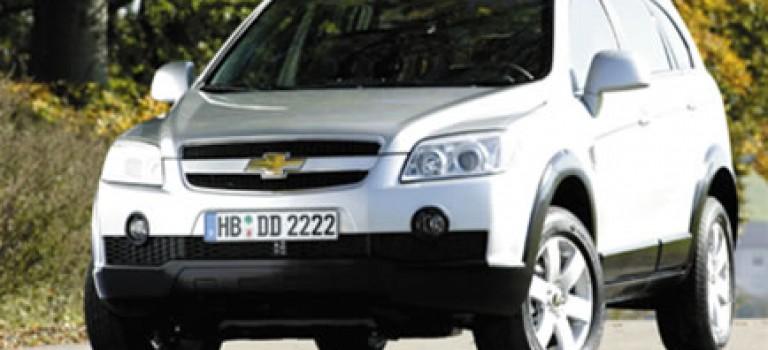 Chevrolet Captiva en concession dès la semaine prochaine
