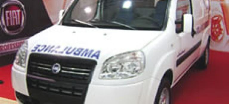 Ambulance sur châssis long Doblo Maxi