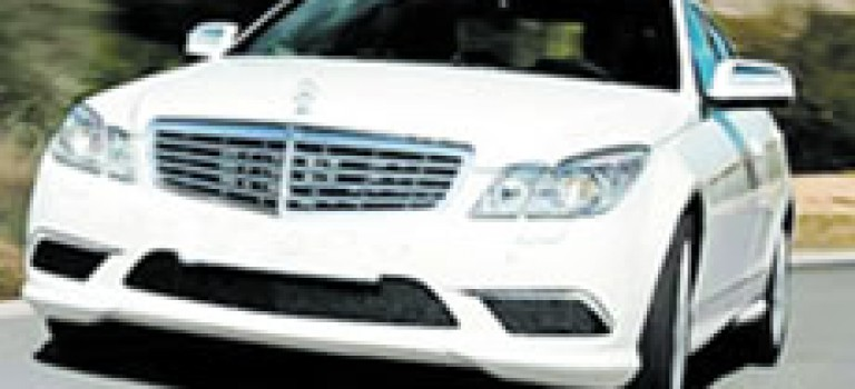 Mercedes classe E chez GMS avant lété 2009
