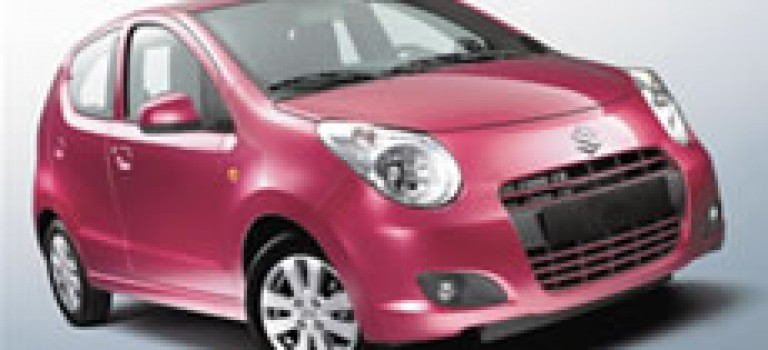 Suzuki Celerio monte en gamme