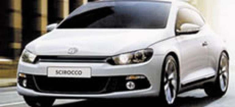 VW Scirocco entre en concession