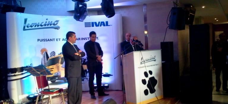 Iveco Leoncino en avant-première au forum des chefs d'entreprise