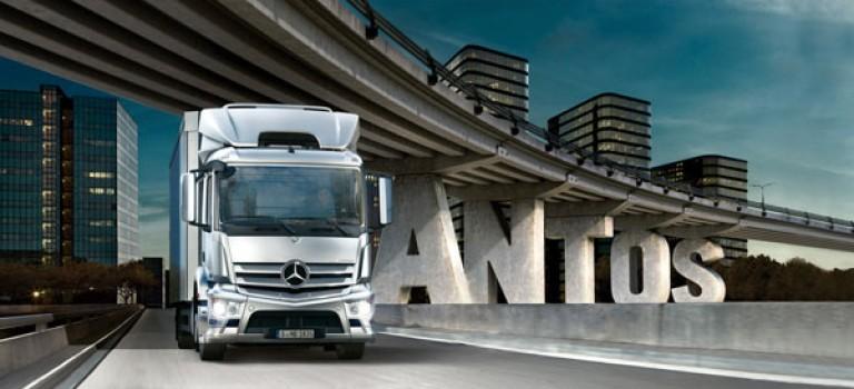 Mercedes : Antos, le nouveau remplaçant d'Axor