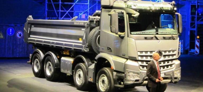 Mercedes AROCS le nouveau conquérant des chantier
