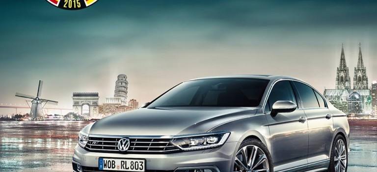 VW rafle le titre de la Voiture de l'année 2015 en Europe : Passat, l'heureuse élue