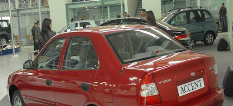 5eme vente par modèles en janvier 2015 : Hyundai Accent (989)