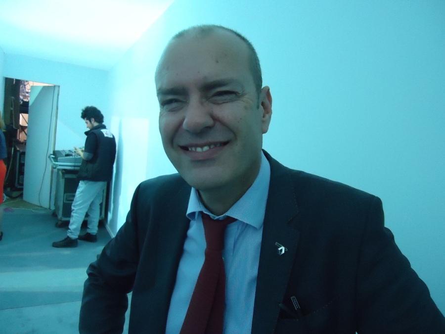 M. Guillaume Jausselin, directeur général de Renault Algérie,
