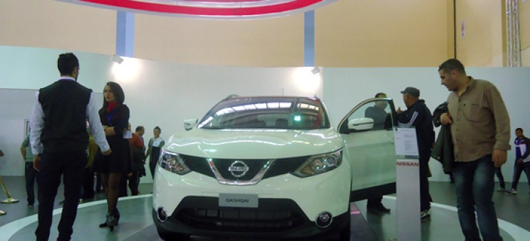 2e génération Nissan  Qashqai  pour la première fois au 18e Salon international de  l'automobile d'Alger