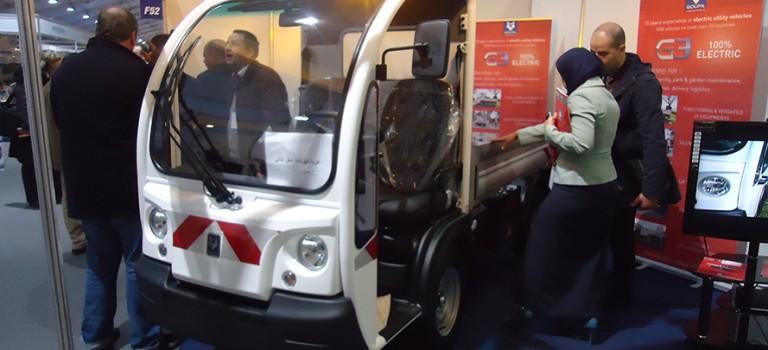 Gamme Goupil industrie présenté au 5e Salon international des fournisseurs de services pétroliers : 1er véhicule électrique en Algérie G1, G3, G5