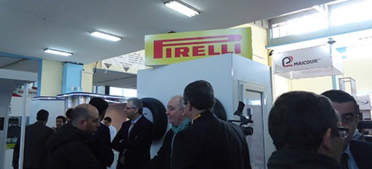 Pirelli : Première participation à  Equip Auto Algéria 2015