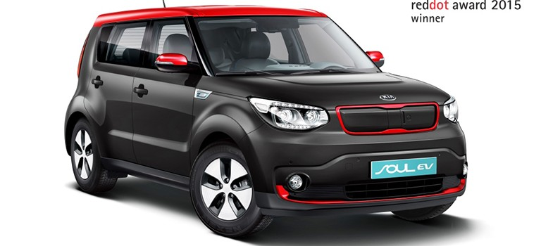 Le Red Dot Design Awards 2015 sacre les Kia Sorento et Soul EV
