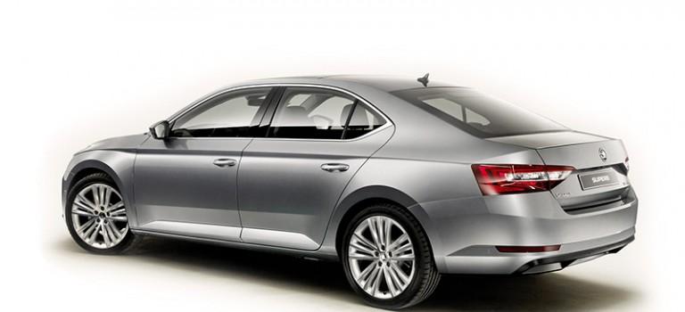Skoda Superb : 5 étoiles Euro grâce à la technologie  MQB VW