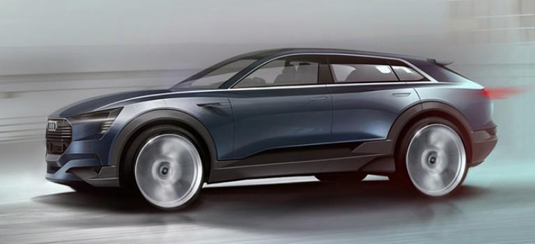 Audi»Q6″ : Ambiance100% électrique chez Audi au prochain Francfort 2015
