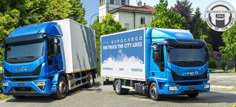 Gamme moyen entre 7,5 – 19 t : Nouvel Eurocargo élu « International Truck of the Year 2016 »