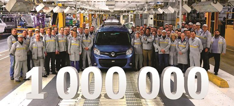 Un million de Kangoo 2ème génération produits à l'usine Renault de Maubeuge