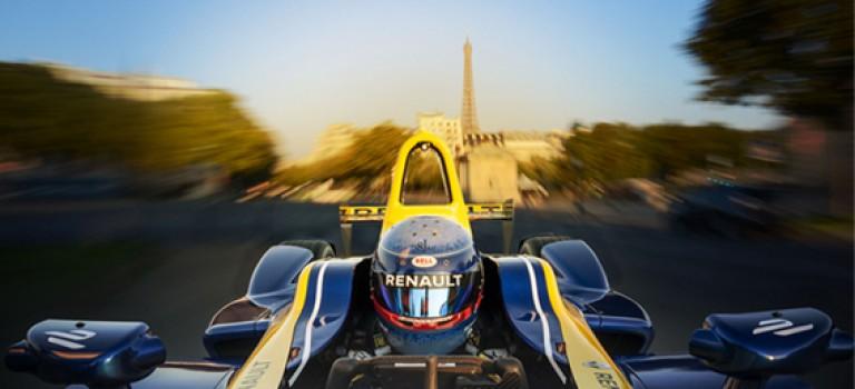 Renault sera partenaire du ePrix de Paris le 23 avril prochain