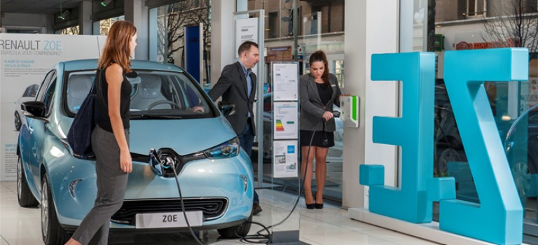 Véhicule électrique : Renault zoe, modèle le plus vendu en Europe