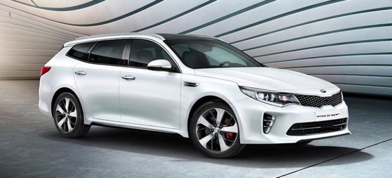 Optima Sportswagon : le tout premier break Kia