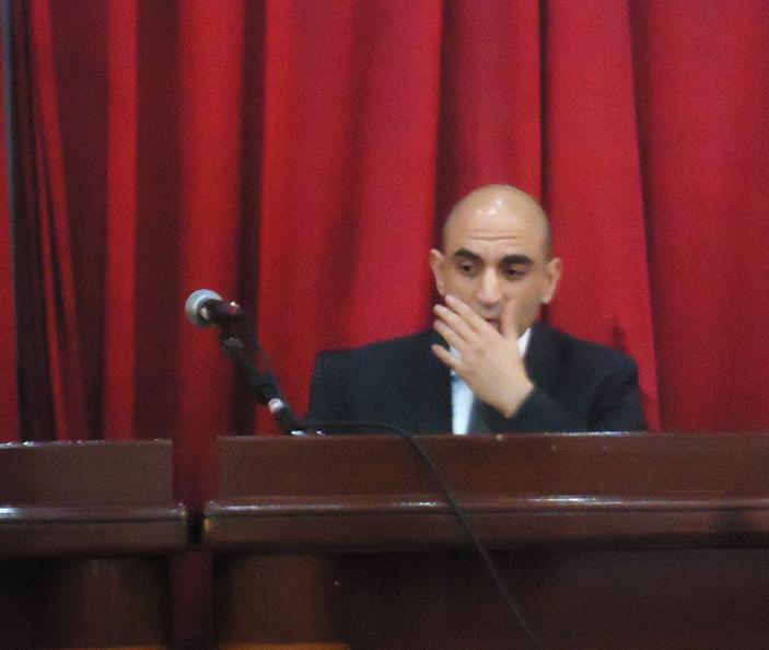 Adel Bensaci, directeur général de la société maghrébine de mécanique de précision et de maintenance industrielle Somemi.