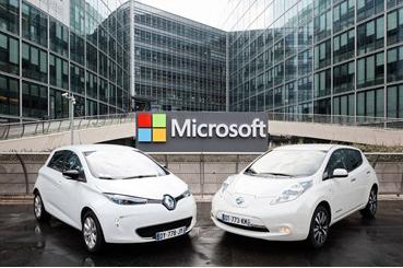 Renault-Nissan -Microsoft