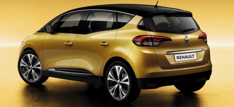Renault 4e  SCÉNIC se devoilera au Mondial