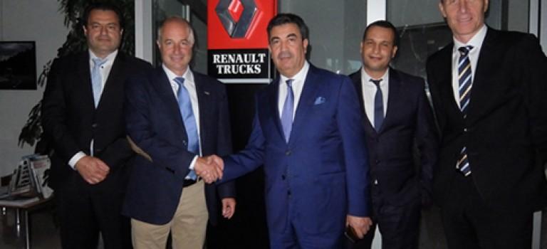 Joint venture Renault Trucks et le groupe BSF Souakri : Pacte d'actionnariat signé à Lyon le 25 août2016
