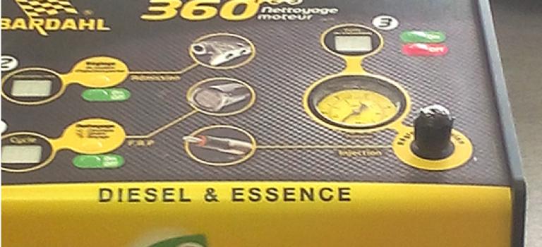 Nettoyage Système d'injection, d'admission et filtre à particule : Bardhal lance  eco nettoyage 360 trois en 1