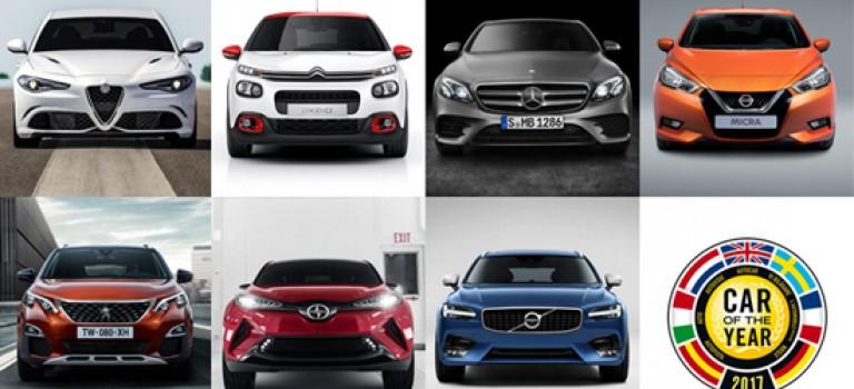 Peugeot remporte le titre de «Car of the Year 2017»
