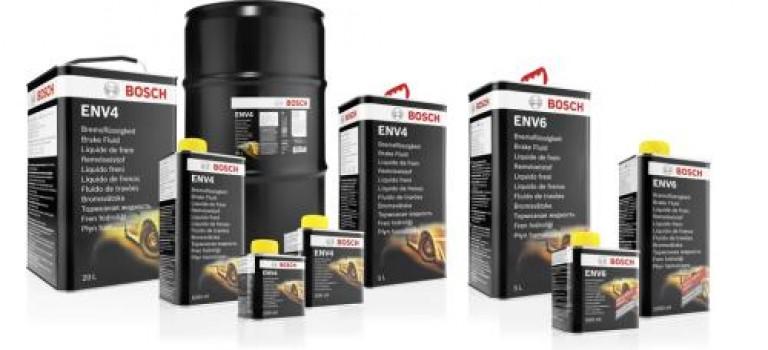 ROBERT BOSCH lance 2 nouvelles générations de liquide de frein : ENV4 et ENV6