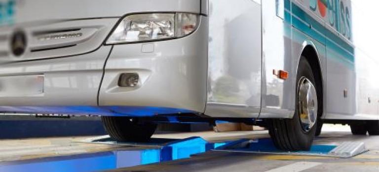 CAPELEC présente un nouveau banc de freinage pou PL