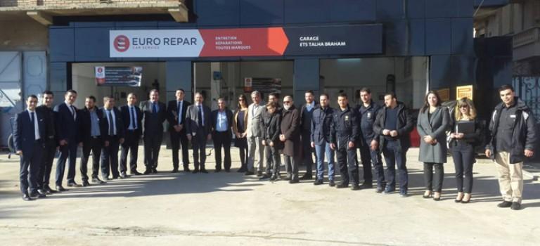 Réparation : PSA Algérie inaugure son premier Euro Repar car service à Eucalyptus