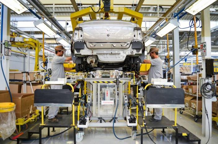 usine de montage renault