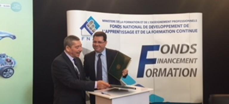 Financement des formations dans le secteur automobile : Convention de partenariat entre le FNAC et l'AC2A