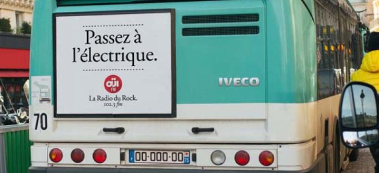 Transport en commun passe à l'électrique