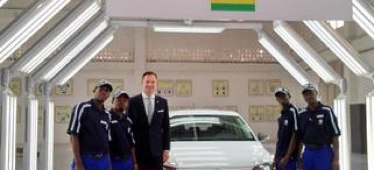 VW met les bouchées double en Afrique : Après l 'Afrique du Sud, Alger et voici le Rwanda