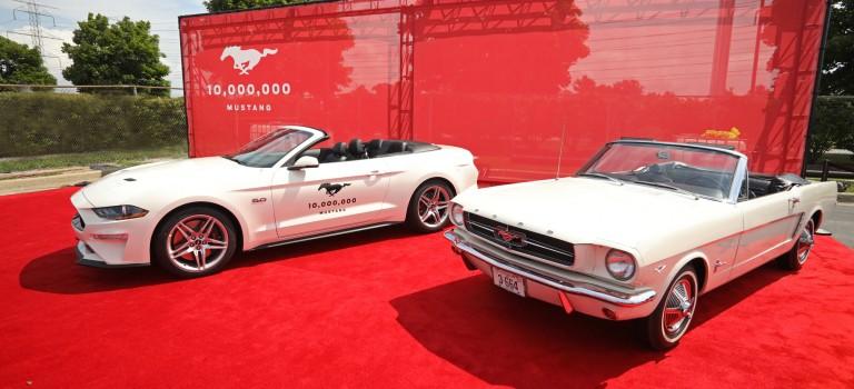 Ford célèbre la production de sa 10 millionième Mustang
