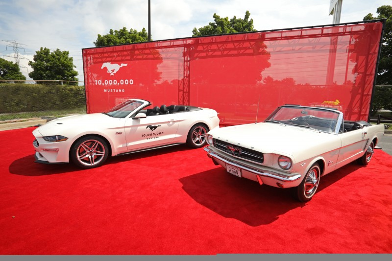 10 Millionth Mustang Celebration