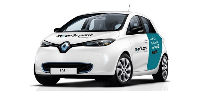 Renault et ADA lancent l'application Moov'in.Paris by Renault