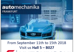Hutchinson au salon Automechanika