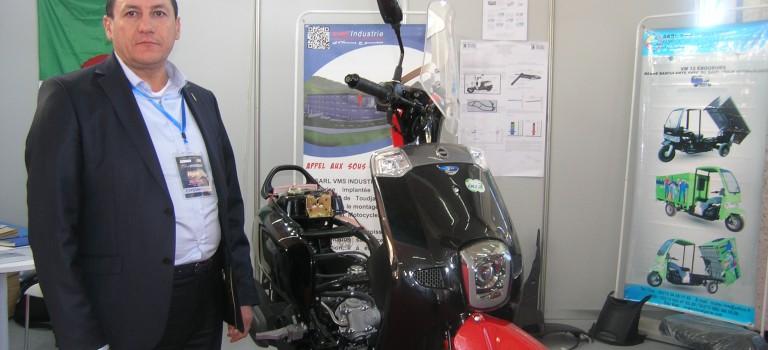 Saigh Abdelkrim gérant de VMS industrie fabricant des deux roues : Notre objectif est d'exporter en 2019