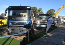Les premiers camions Daewoo montés en Algérie se dévoilent sur le SITP 2018
