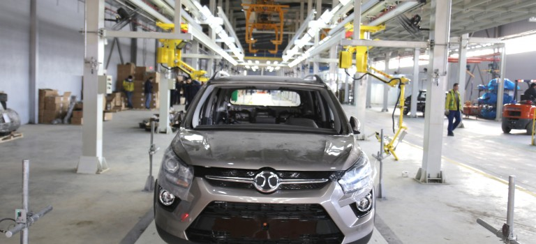 BAIC Industrie Internationale  Algérie inaugure son usine d'assemblage automobile à Batna