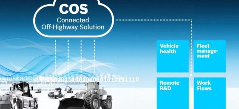 Rexroth connecte lBosch : Rexroth connecte les véhicules hors route avec la suite IoT flexible