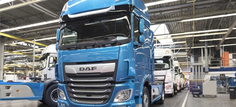 PL des plus de 16 t: Avec 19,8% de part de marché du tracteur DAF est devenu la deuxième marque en Europe.