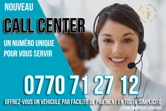 Call Center Comptoir de la patience