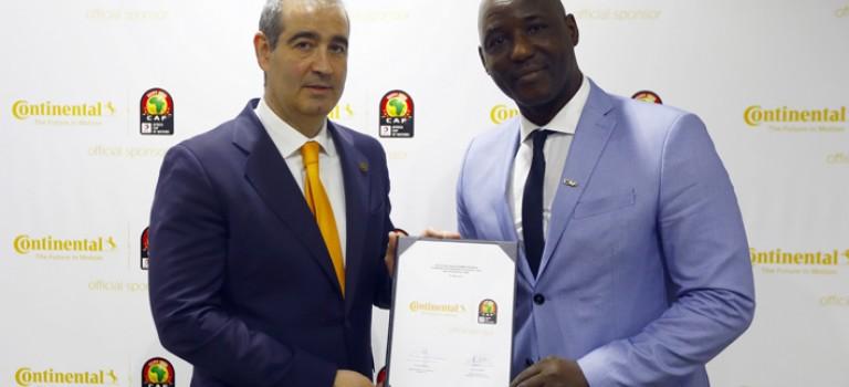 Continental devient Sponsor Officiel des pneus de la Coupe d'Afrique des  Nations Total 2019 en Egypte