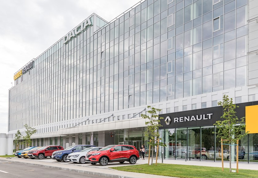 2019 - Inauguration du nouveau centre Renault Bucharest Connected
