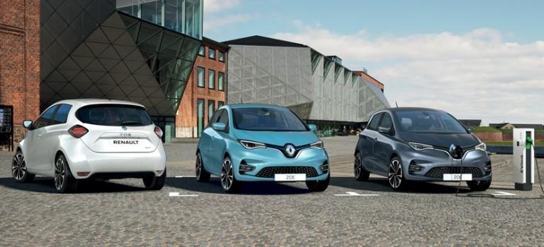 Renault  Zoé 3G s'affiche à partir de 23 000 euros et barre le chemin à  Peugeot e-208 active